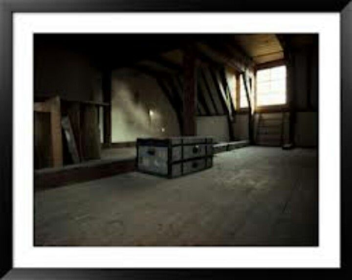 The Attic At The Secret Annex Anne Frank History