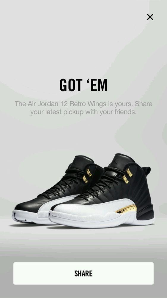 1fab6d147d9665 Nike Air Jordan Retro XII 12 Wings Size 10 DS  Nike  BasketballShoes ...