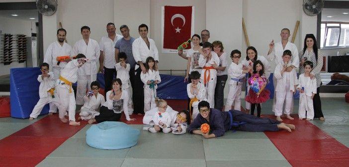 Çocuklar için aikido kursu görüntümüz