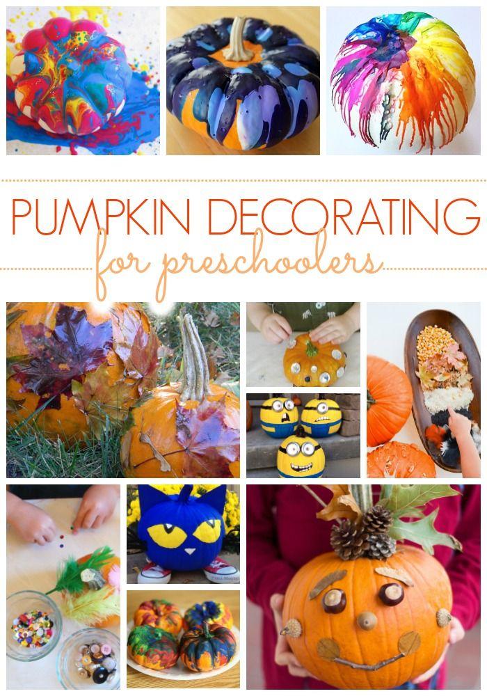25 No Carve Preschool Pumpkin Decorating Ideas Pumpkin