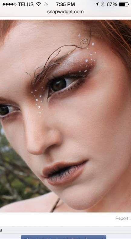 33 Trendy Makeup Eyebrows Elf#elf    diyelfcostume #elvencostume #faeriecostume #fairycostumemakeup #costumes #adultelfcostume #elfmakeup #elvenmakeup #fantasymakeup