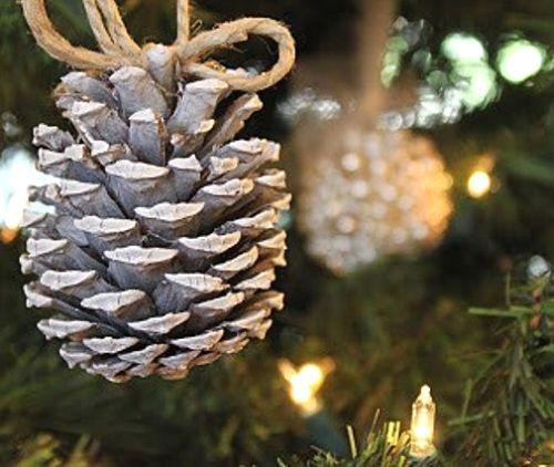 ideas de decoracin de navidad con pias - Adornos De Navidad Con Pias
