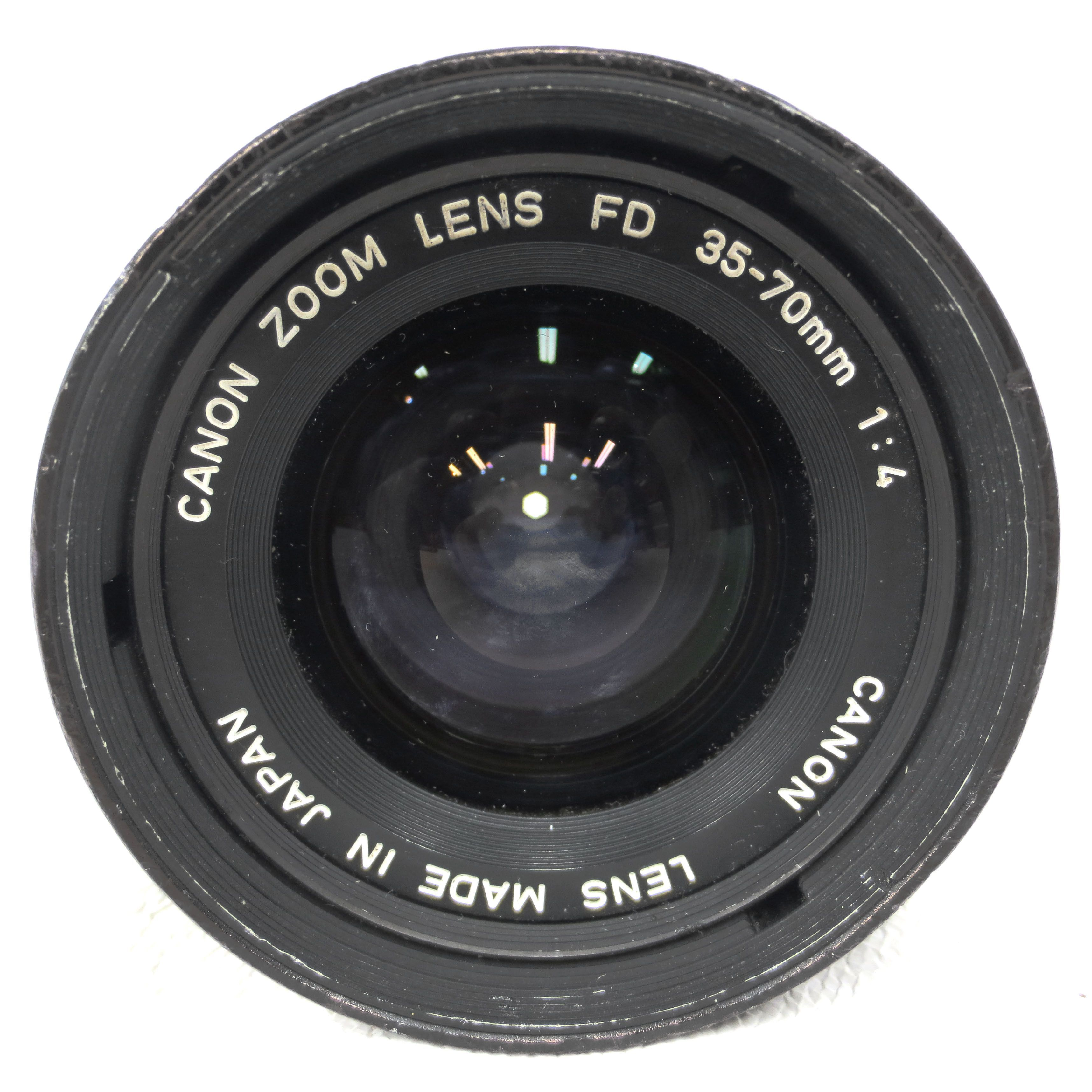 Canon Camera Lens Zoom Fd 35 70 Mm 1 4 Made In Japan Camera Lenses Canon Camera Lens Best Digital Camera