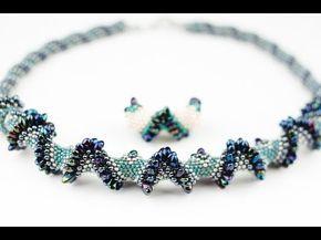 72) колье-чокер из бисера и бусин. 1 часть youtube | jewellery.