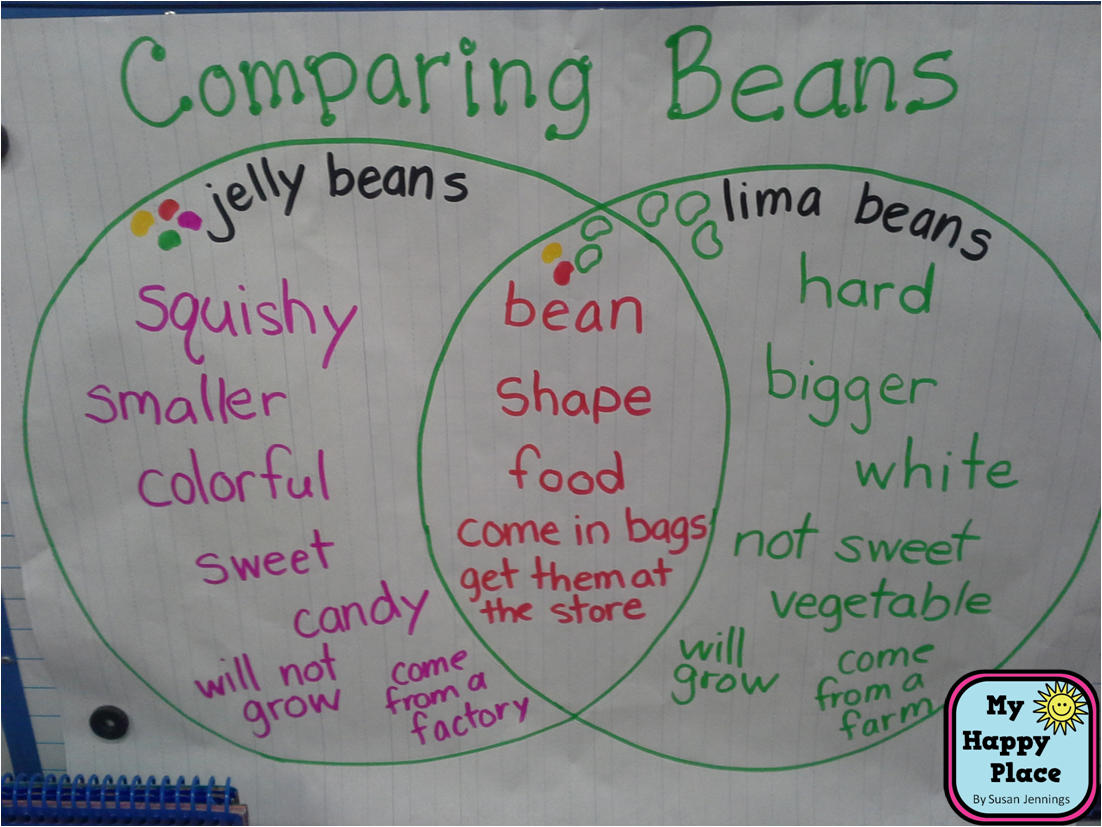 Picture Only Fun Spring Activity To Go Along With Seeds And Plants Comparing Lima Beans And