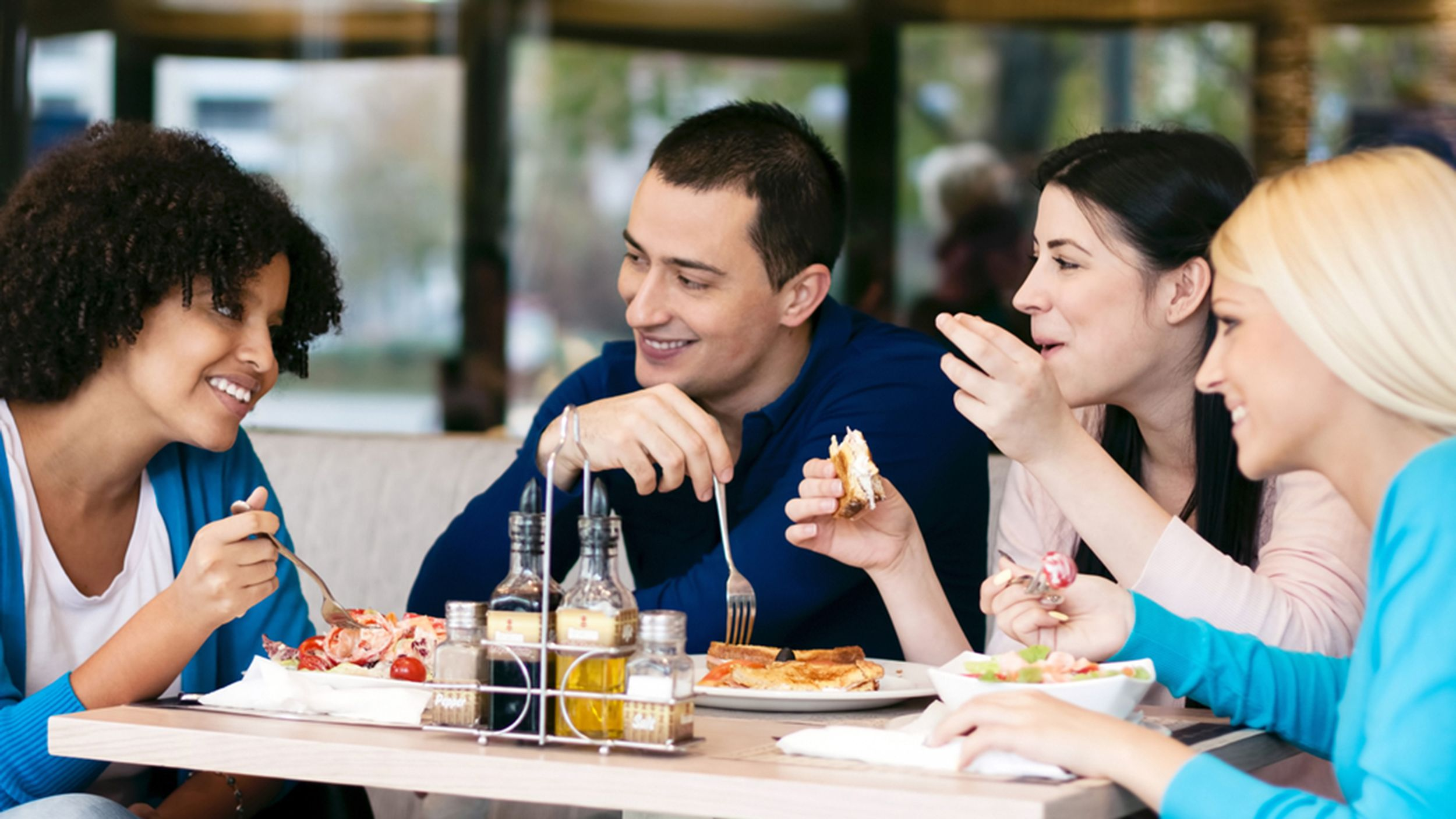 Where the 'fat' tables are in restaurants
