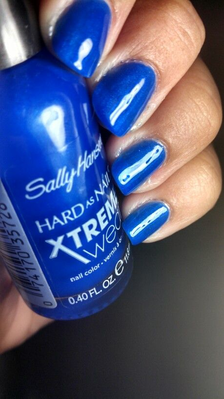 Sally hansen pacific blue. New version. Its cute
