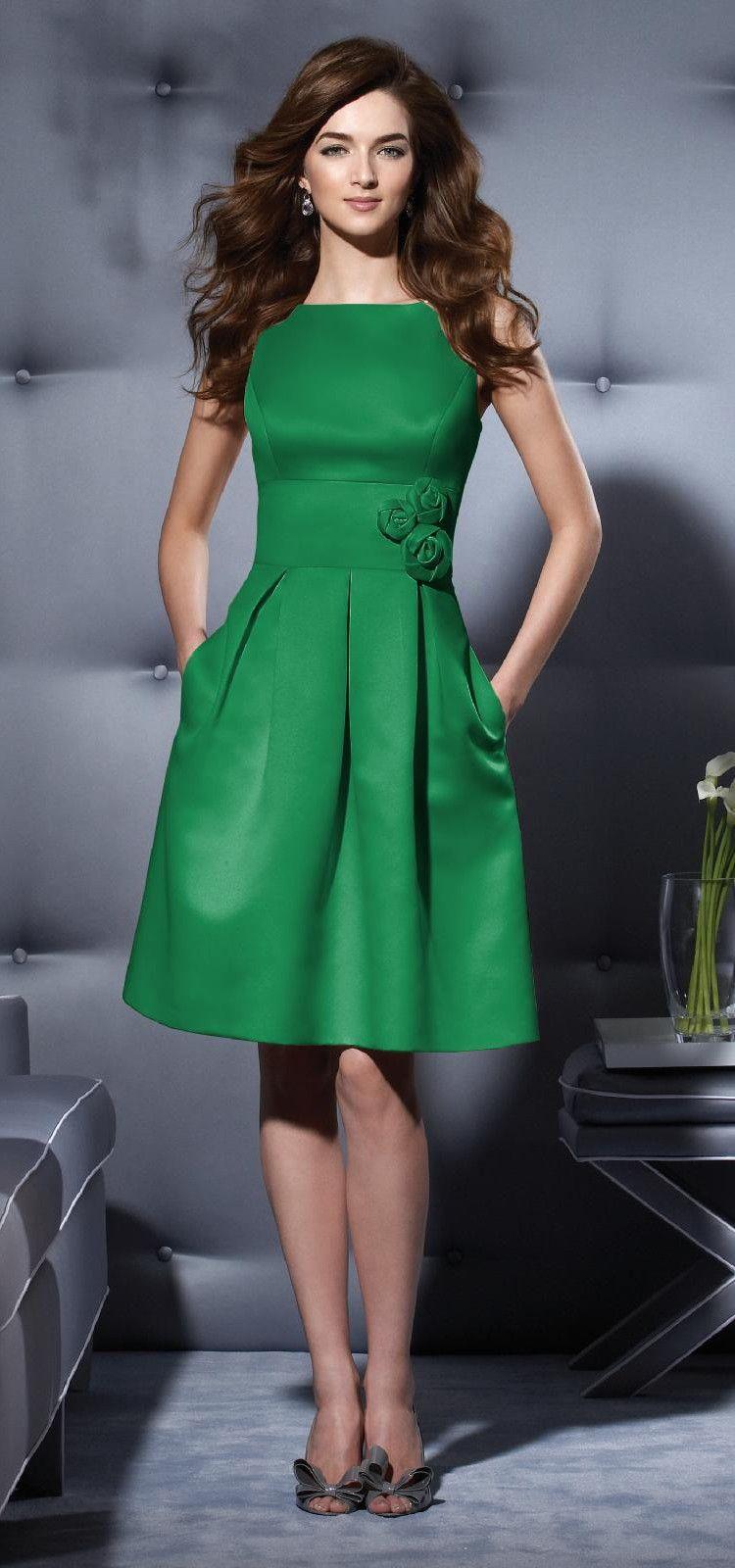 shamrock peaches and green pinterest bridesmaid dress