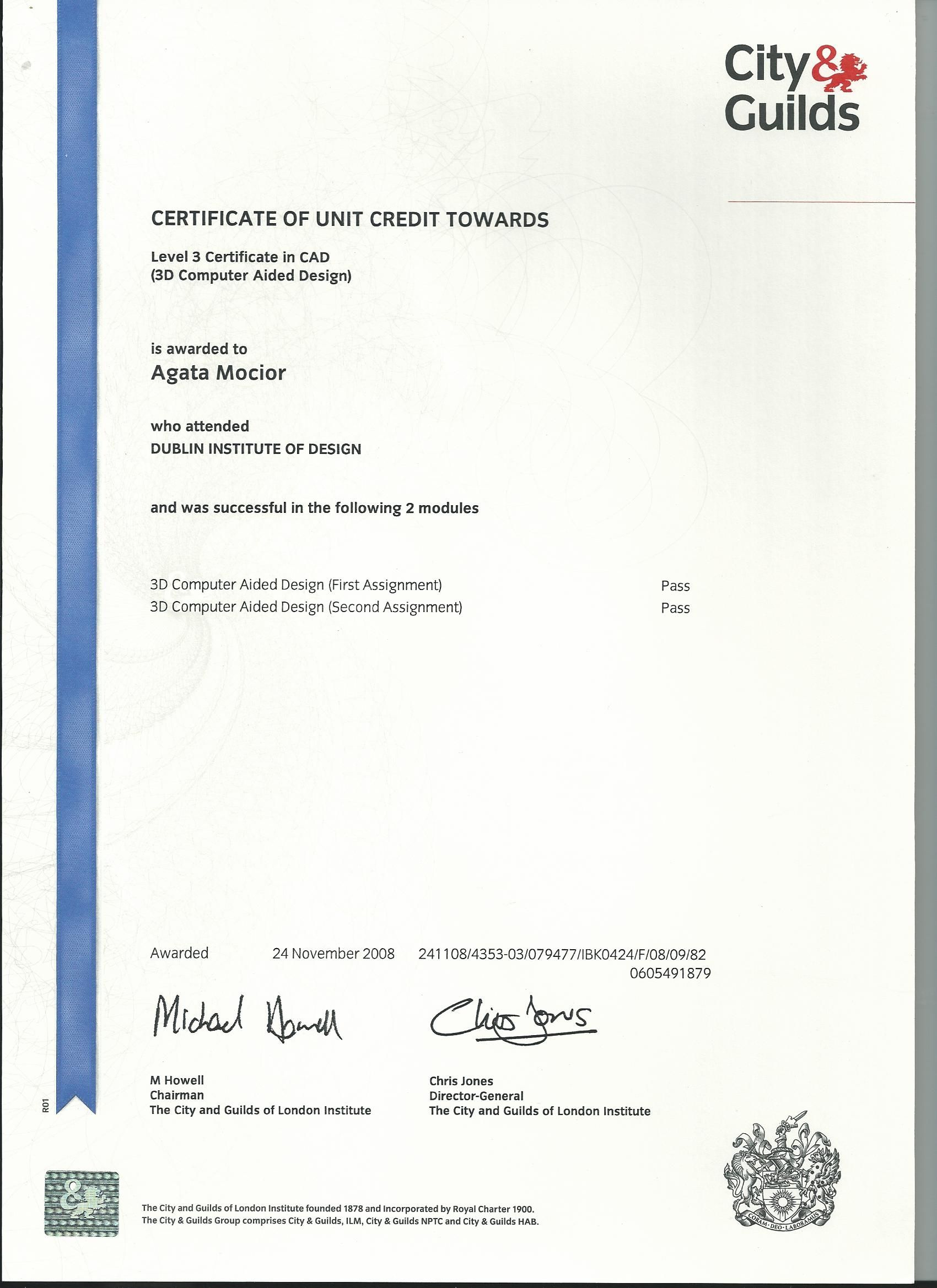 2008, 3D CAD Cert   Diplomas & Certificates   Pinterest