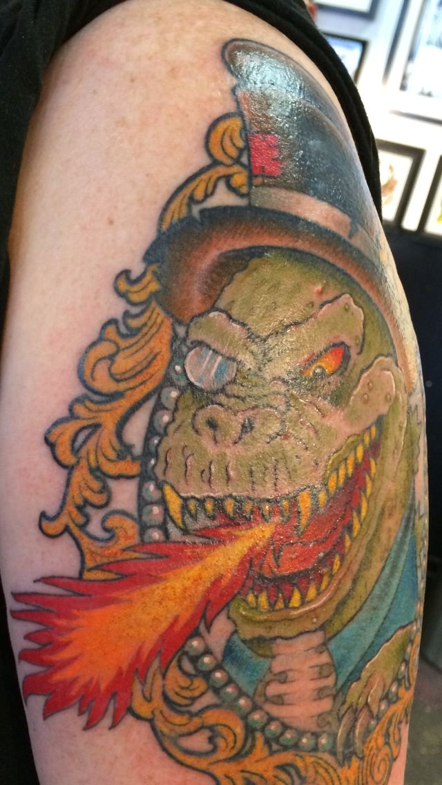 Mechagodzilla Tattoos