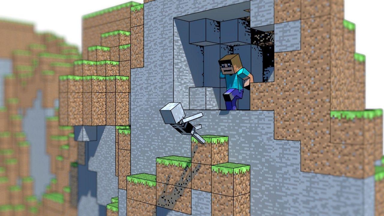 Minecraft toon wallpaper (#1974086) / Wallbase.cc ...
