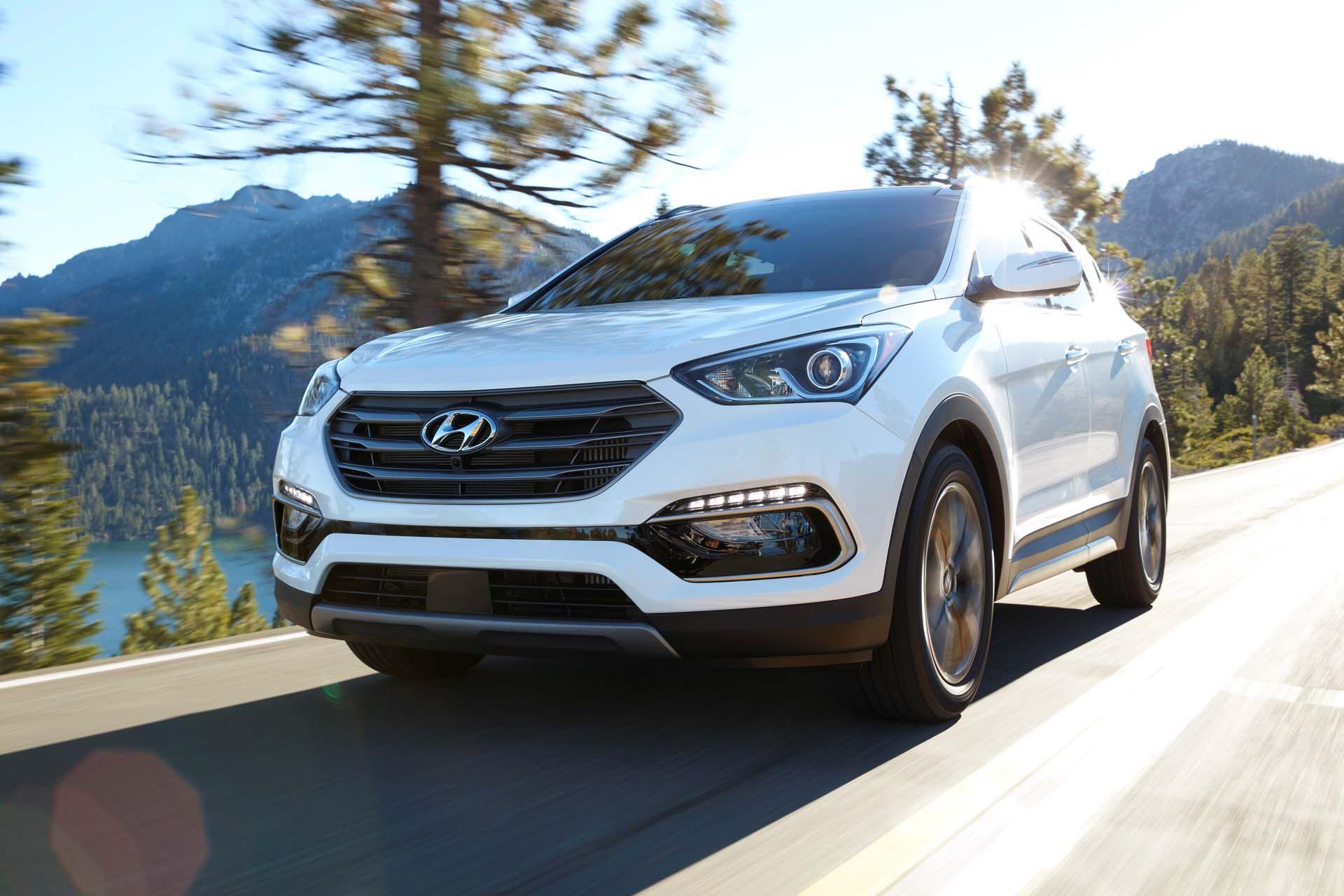 2017 Hyundai Santa Fe Sport Review, Ratings, Specs, Prices