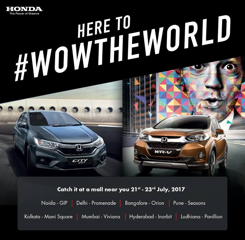 Honda Car India invites you to witness the iconic