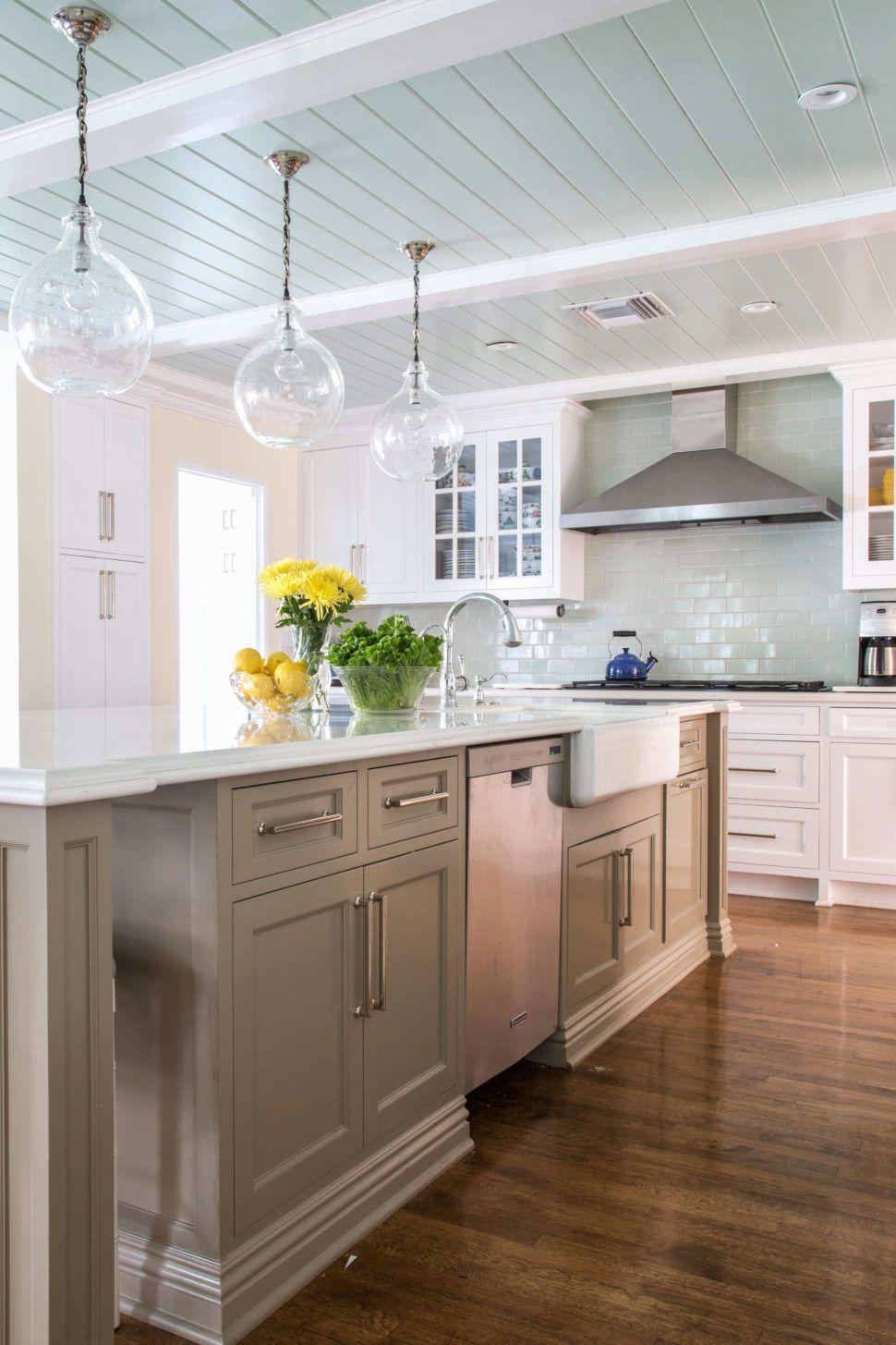 Taupe Küchenschränke Küchendesign, Landküchendesign