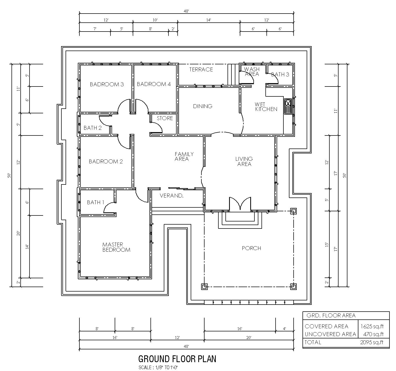 Pelan Lantai Rumah Banglo Google Search
