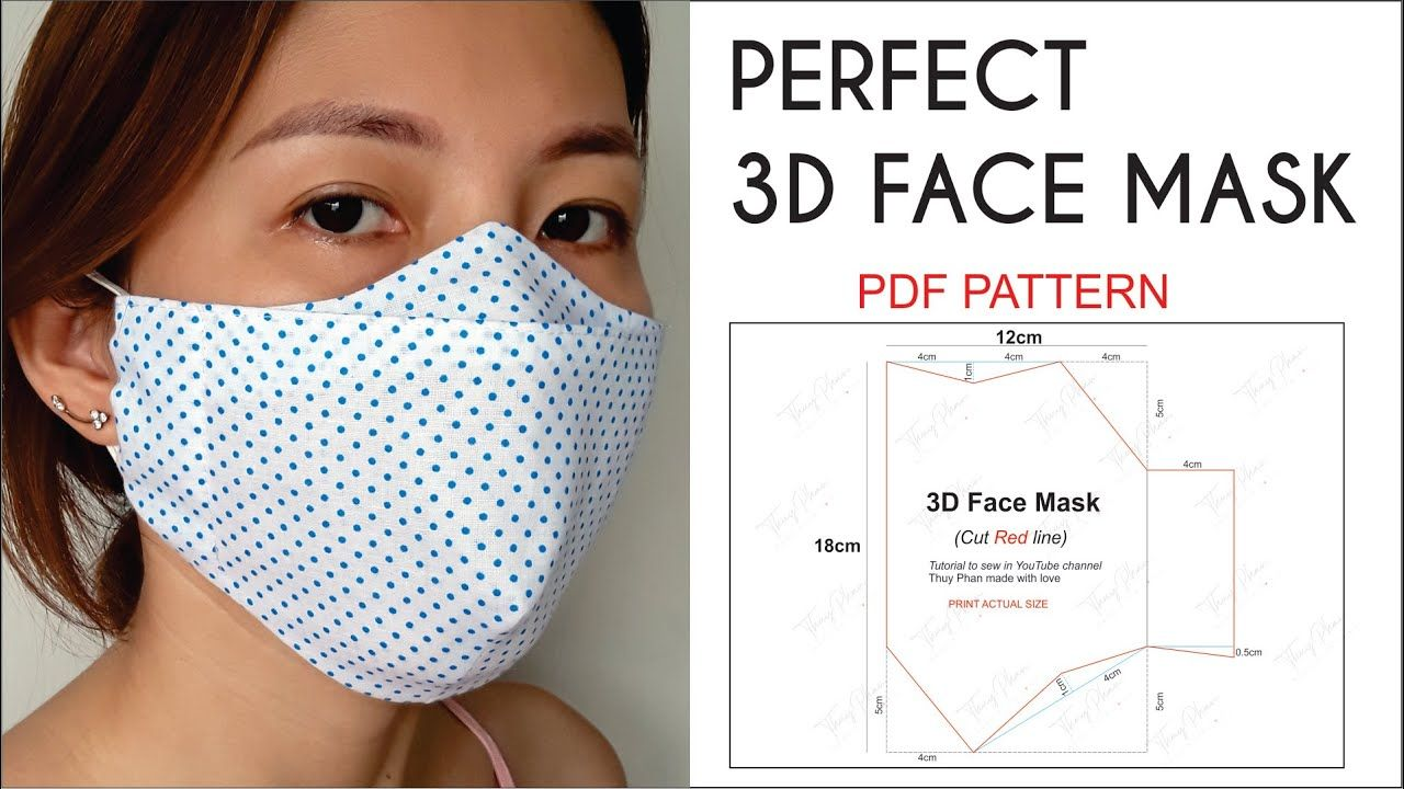 Perfect 3D Face Mask Best Fit Comfortable And Beautiful