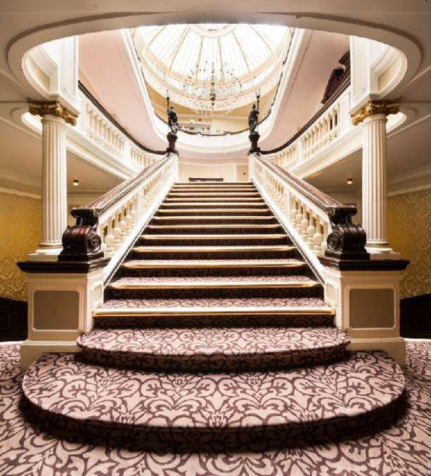 What A Grand Staircase Perfect For The Bride To Walk Down Dont
