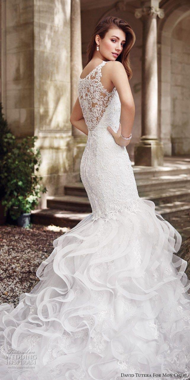 David tutera for mon cheri spring wedding dresses gorgeous
