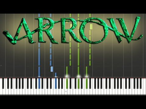 Arrow Main Theme Piano Tutorial Youtube