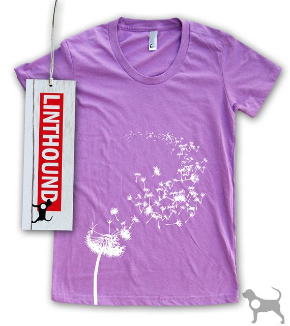 Paardebloem Zaden Women S T Shirt T Shirts For Women Women Dandelion Seed