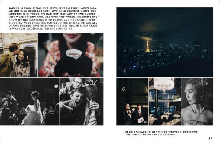 Published In Heirloom Magazine Samm Blake Photographer Wedding Book Layout Design