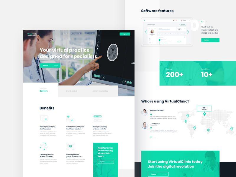 3 Virtualclinic Healthcare Website Health Care Health Check