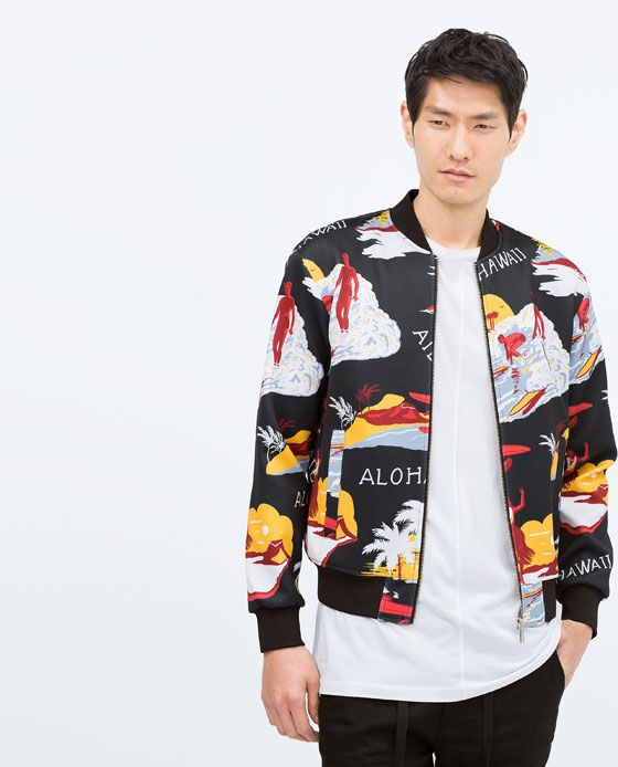 2164fb9c HAWAIIAN PRINT JACKET | Men - What to wear in 2019 | Jackets, Print ...