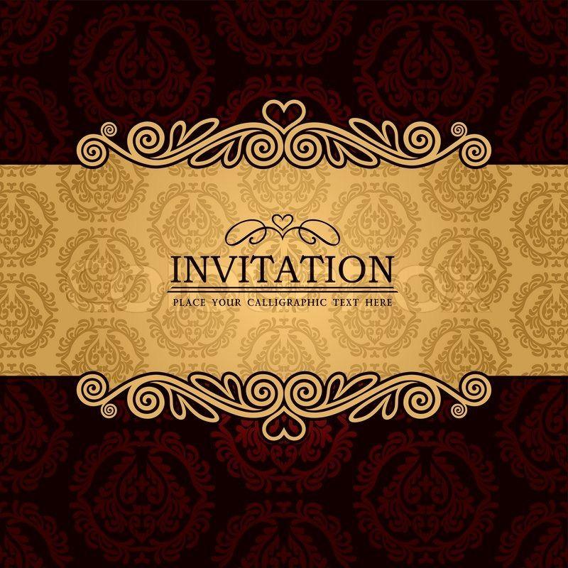 Graphic Design Invitation Templates Wedding Ideas Pinterest - fresh invitation banner vector
