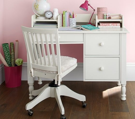 Catalina Storage Desk Low Hutch Pbkids