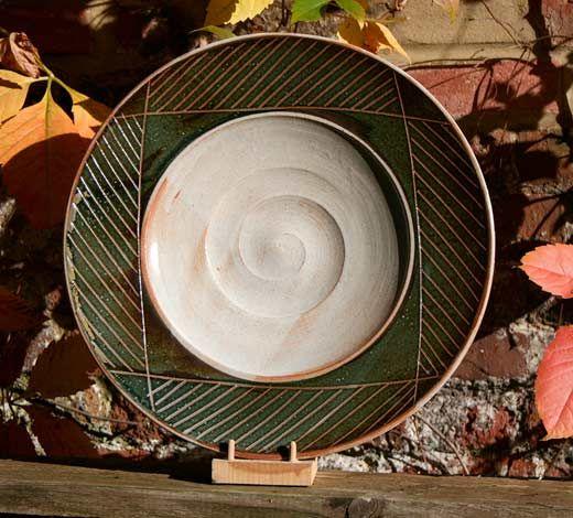 Ceramics by Julie Ayton at Studiopottery.co.uk - 2014. Plate