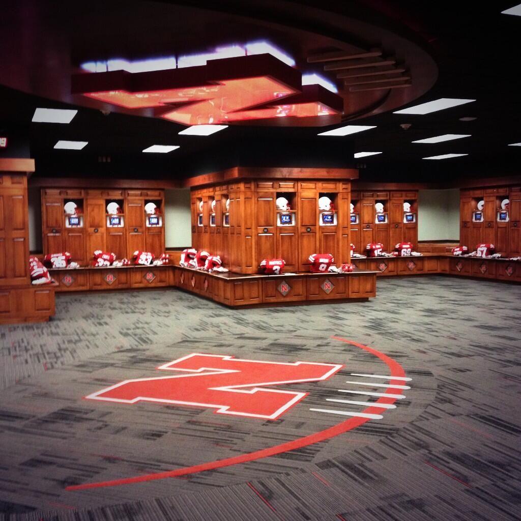 University of Nebraska Locker Room Huskerrific