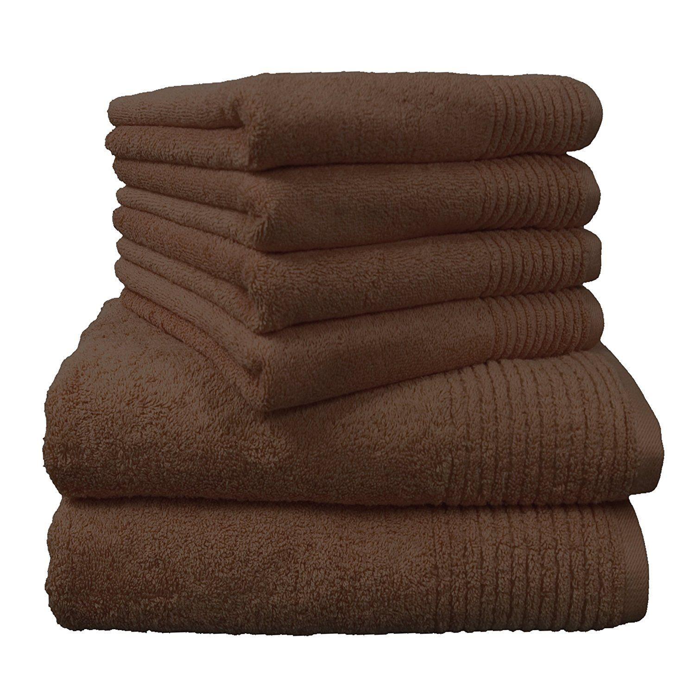 """Handtuchset """"Brillant"""", 2 Badetücher und 4 Handtücher, viele verschiedene Farben, dicke Qualität direkt hier bestellen"""