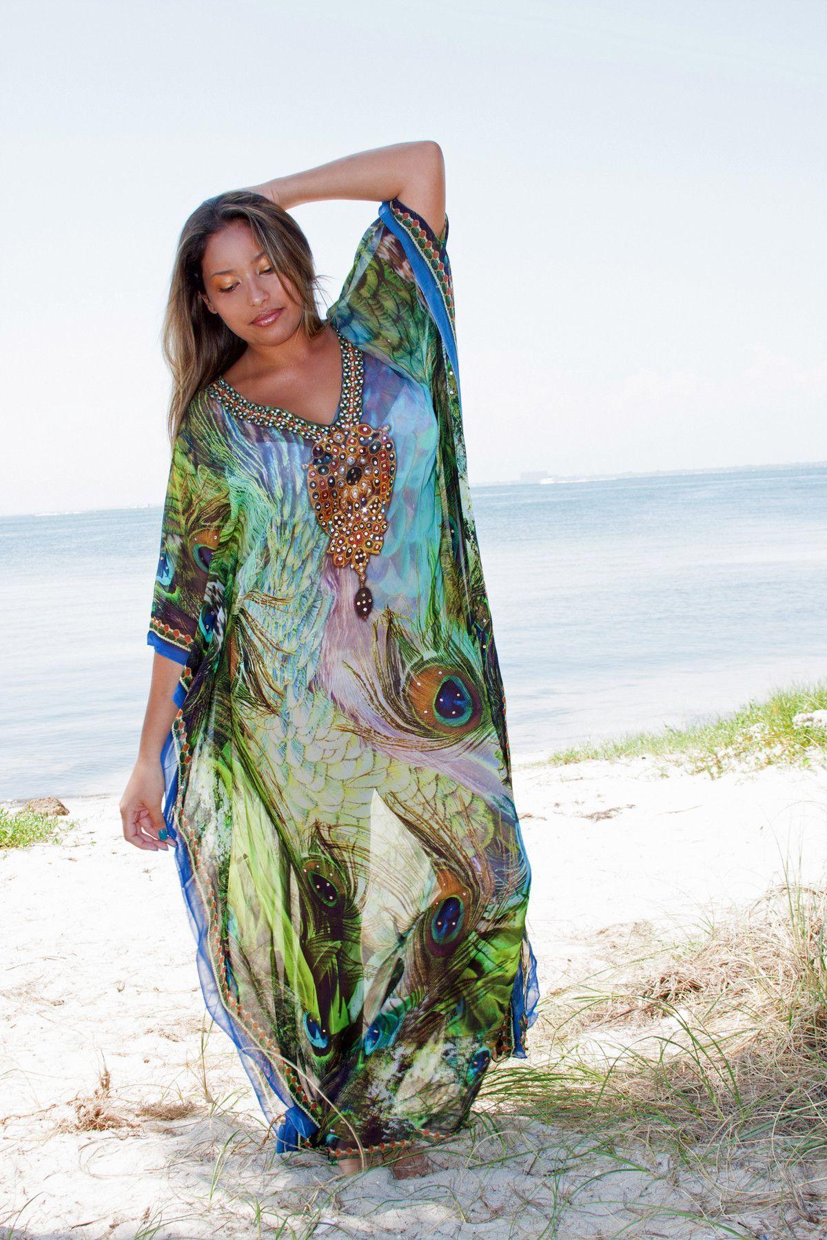 Glamorous Maxi Kaftans & Robes | Pfau