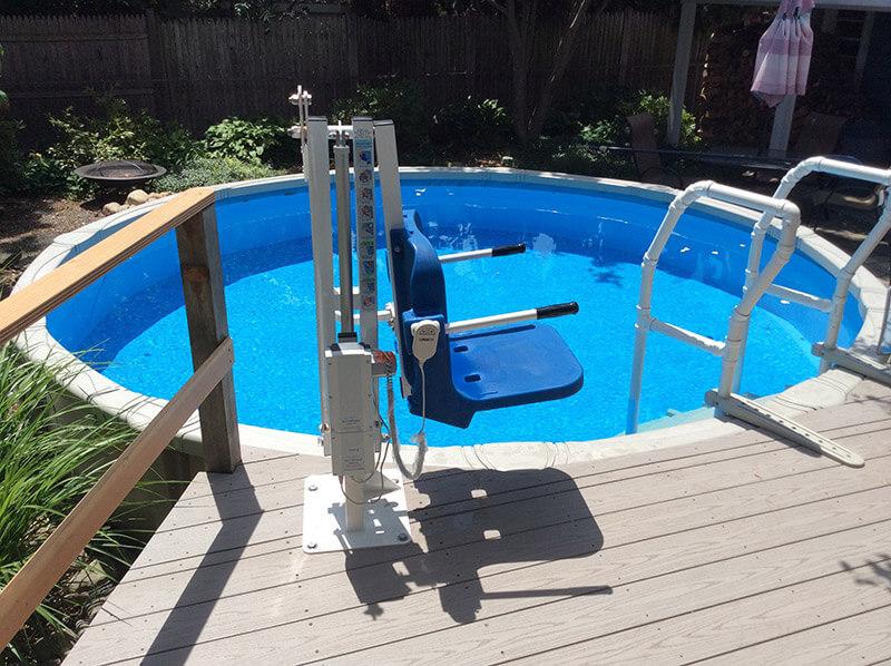 Pool Lifts Inground Amp Above Ground Pool Amp Spa Lift