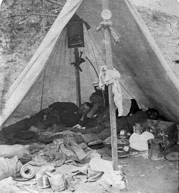 This tent is a mess Civil War era miners tent still & Yikes!! This tent is a mess Civil War era miners tent still a ...