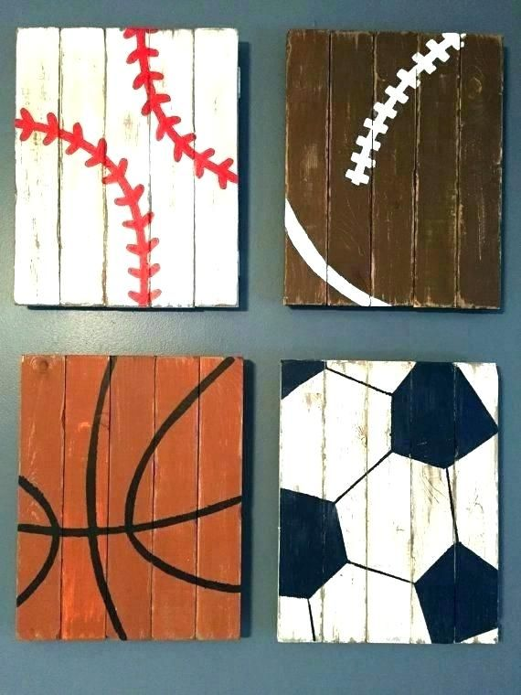 Sports Bedroom Ideas Boys Sport Themed Decor Kids Room