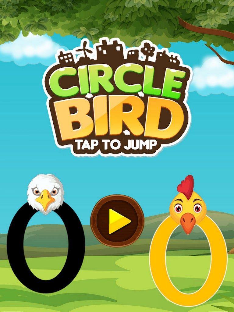 Circle Bird Jump + Ready For Publish + Endless Game Play +