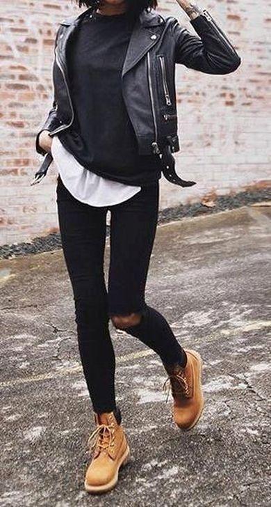 Photo of 51 idea accattivante per l'abbigliamento invernale tutto nero