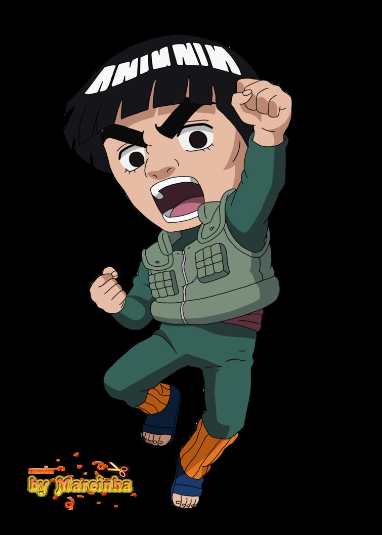 Mighty Gai Naruto Shippuden The Strongest Chibi 2017 Chibi Anime Chibi Chibi Characters