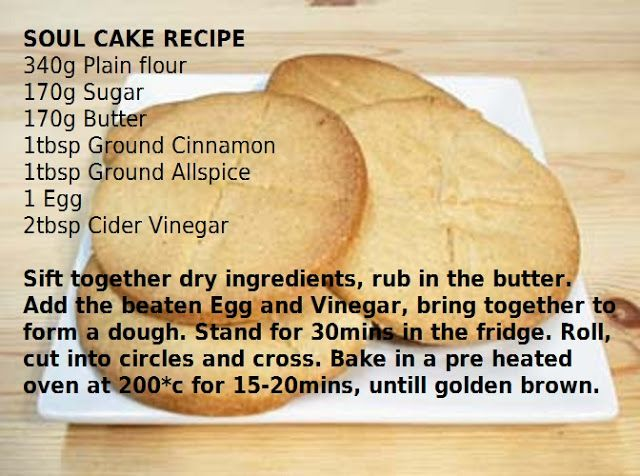 Soul Cakes #samhainrecipes