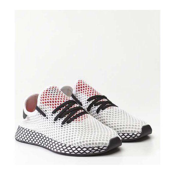 Sportowe Meskie Adidas Adidas Deerupt Runner Footwear White Core Black Shock Red