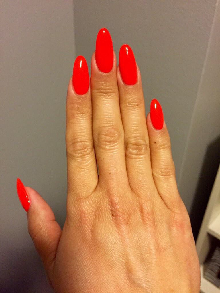 Fire Red Nails Red Nails Valentines Nails Hair Skin Nails