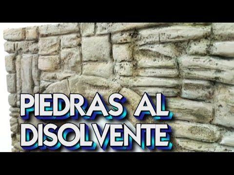 Arco De Piedra Tecnica Disolvente En Porexpan Para Decorar Youtube Belenes Arco De Piedra Unas Con Piedras