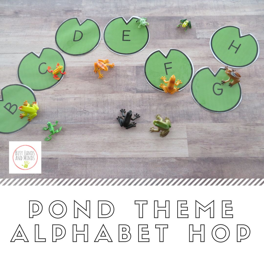 Pond Preschool Pack Literacy Math And Writing Centers