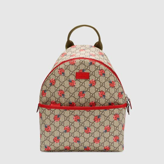 c2bcc26327ed Gucci Children's GG ladybugs backpack | Bags in 2019 | Girls bags ...