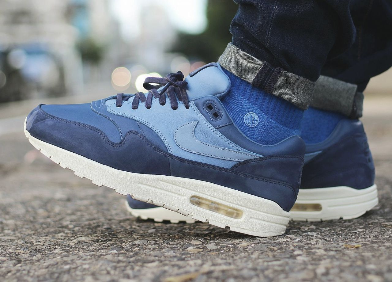 NikeLAB Air Max 1 Pinnacle - Ocean Fog/Work Blue - 2017 (by limpa_vias