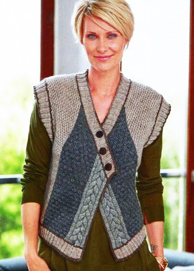 Women patterns for women vest free 2017 women knitted for