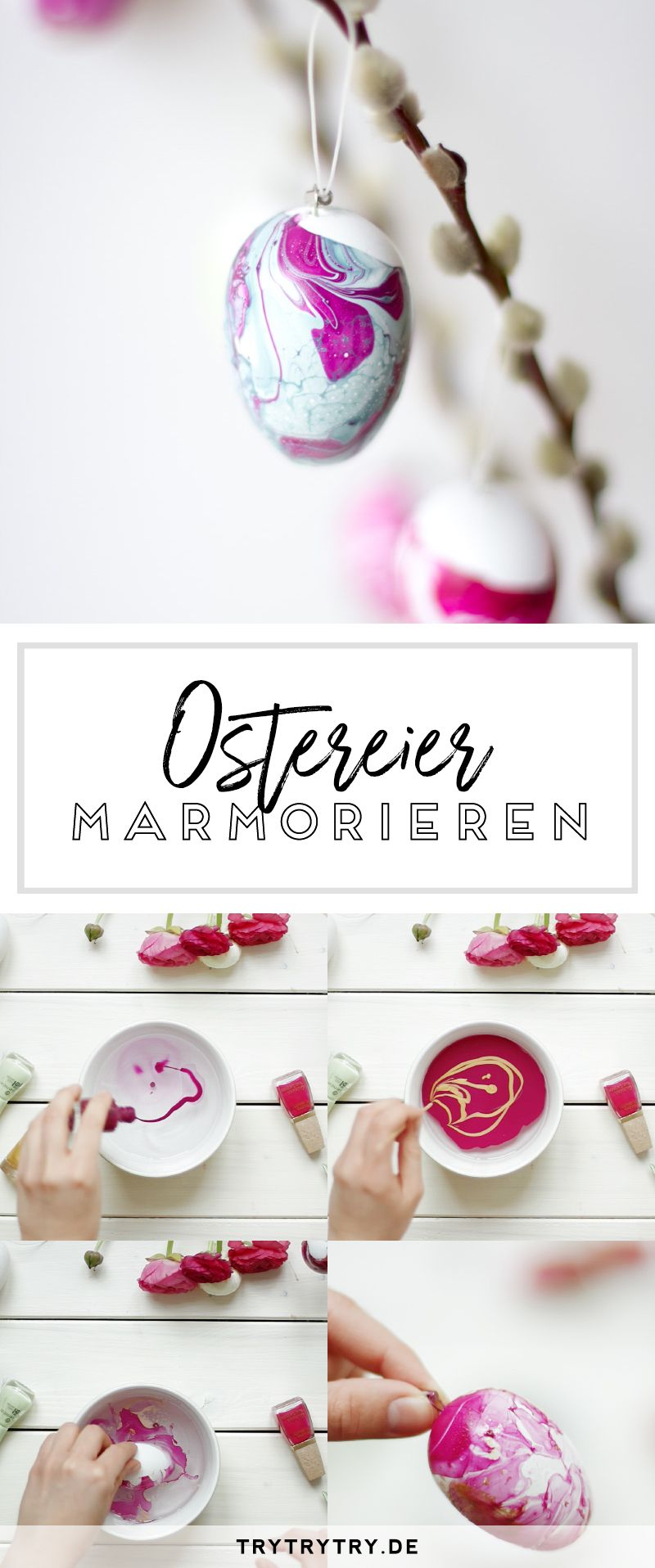 marmorierte ostereier diy geschenke pinterest marmorieren ostereier und ostern. Black Bedroom Furniture Sets. Home Design Ideas