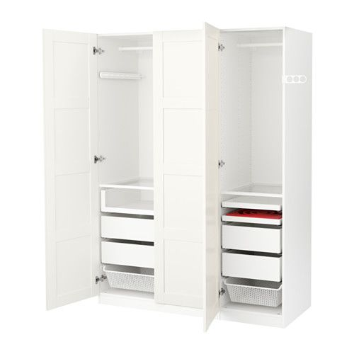 pax armoire penderie charni re fermeture silencieuse 150x60x201 cm 530 ikea armoire. Black Bedroom Furniture Sets. Home Design Ideas