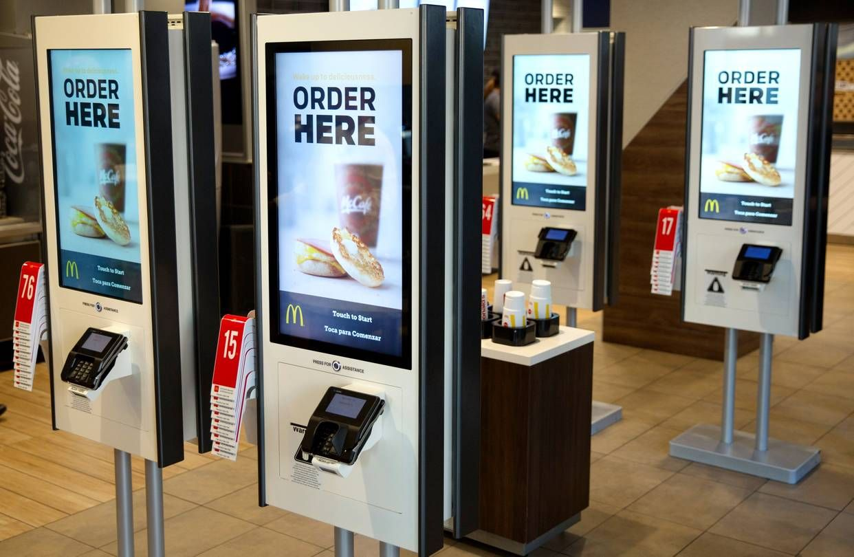 Mcdonald S Self Service Ordering Kiosk By Zivelo Zivelo